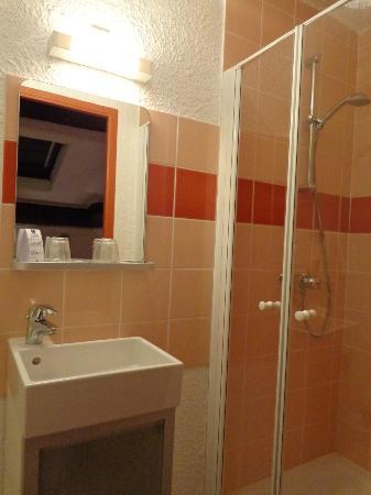 Hotel du Tigre : douche