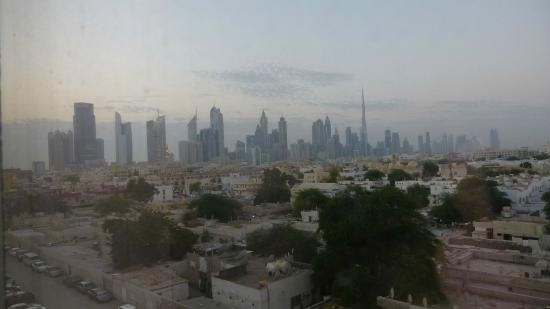 Jumeira Rotana: view from room