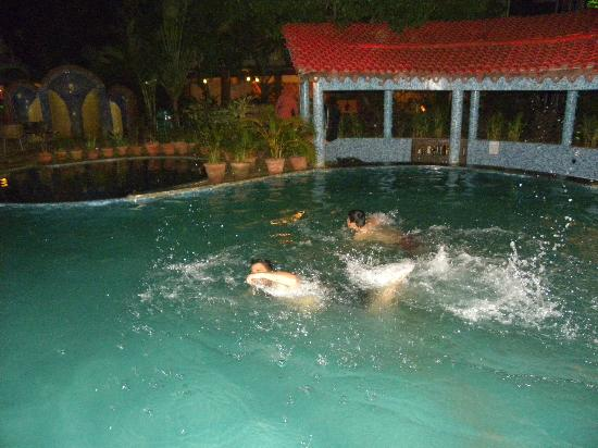 The Country Club De Goa Resort: Pool with bar