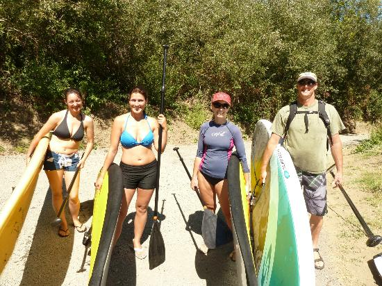 Rubicon Adventures: SUP 101  on the Russian River