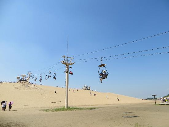 Shahu Nature Tourist Area: Chairlift to top of mountain...you can (pay) to slide down