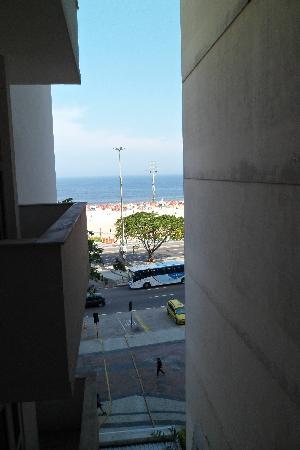 Tulip Inn Rio Copacabana: desde el balcón de la habitación