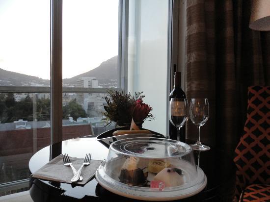 Taj Cape Town : l'omaggio di benvenuto