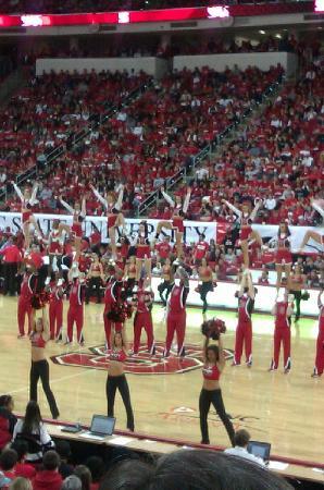 PNC Arena: Cheerleaders