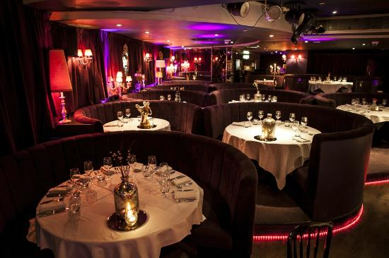 Booth Seating Picture Of Proud Cabaret City London Tripadvisor