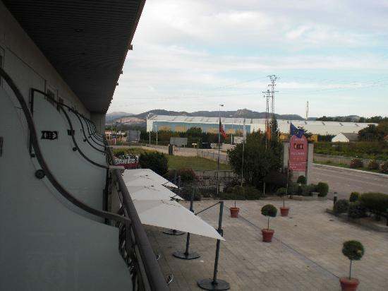 Hotel Alfonso I: Vista de las terrazas