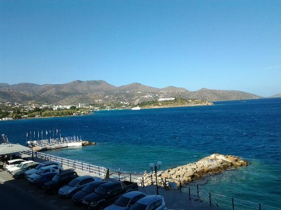 Hermes Hotel: Ons uitzicht vanuit de hotelkamer