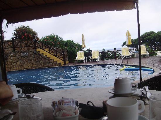 La Boheme Hotel e Apart Hotel: Vista desde el restaurant del hotel