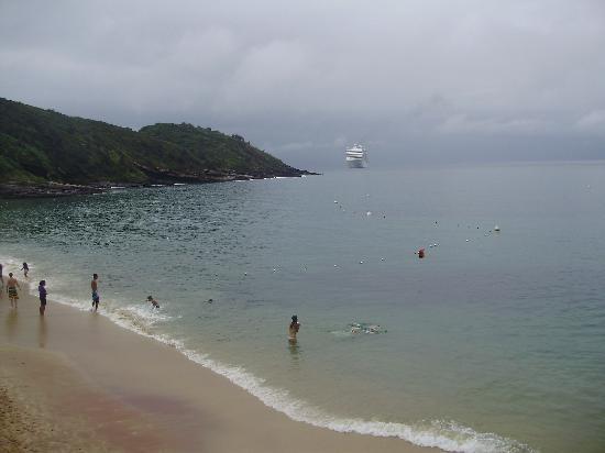 La Boheme Hotel e Apart Hotel: Vsita de la playa Joao Fernandez