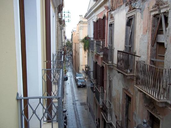 The Place Cagliari: View from room (second floor) towards south