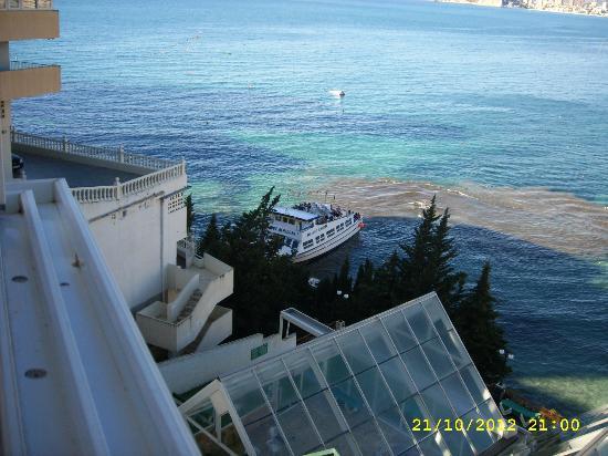 Hotel Benikaktus: dit was het zicht uit onze kamer