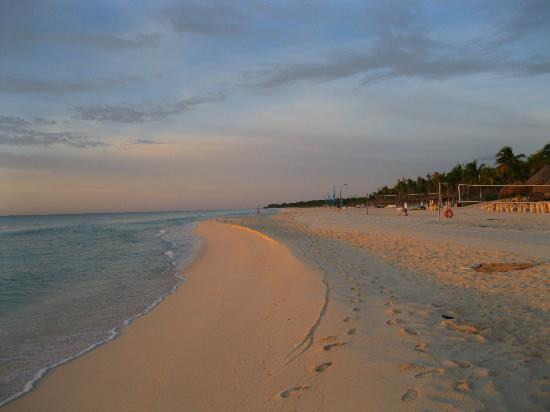 Iberostar Quetzal Playacar: Beach at sunrise