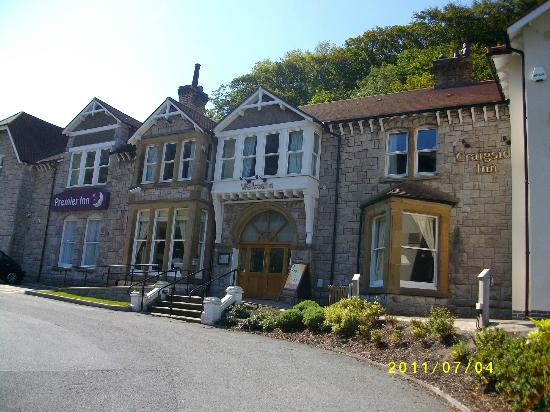 Premier Inn Llandudno North (Little Orme) Hotel: the front