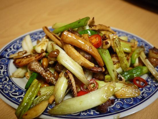 New Changchun Chuantaicai Restaurant: 客家小炒(客家は小さく炒めます)