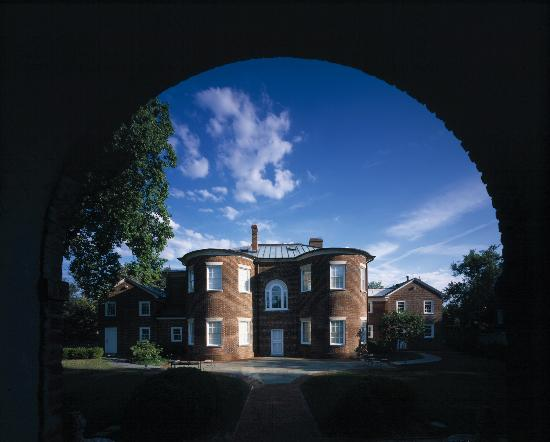 Rear View of Dumbarton House
