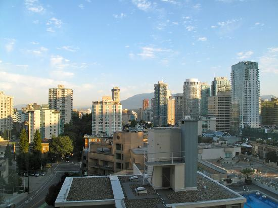 Sutton Place Hotel Vancouver: view from room 1208
