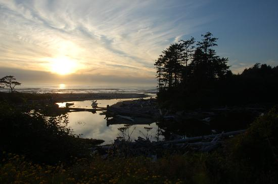 Kalaloch Lodge in Olympic National Park: vista dall'hotel