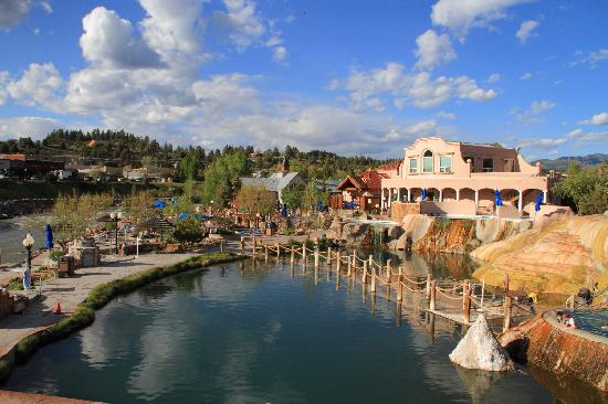 Pagosa Springs, CO: Bathhouse & Pools