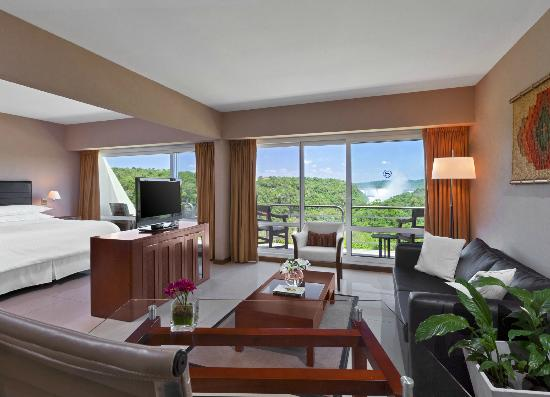 Melia Iguazu: Our Premier Suite offers a Falls View