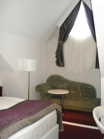 Hotel Gustav Vasa: Отличный номер для Карлсона!!!