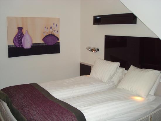 Hotel Gustav Vasa: Прекрасные кровати для влюбленных!