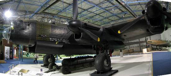 The Royal Air Force Museum London: Lancaster Bomber