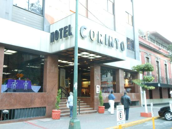 Corinto Hotel: Front of hotel OCT2012