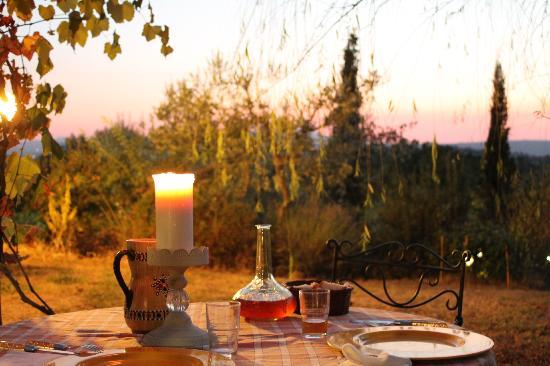 Agriturismo Surya: La cena della prima sera....niente male vero?