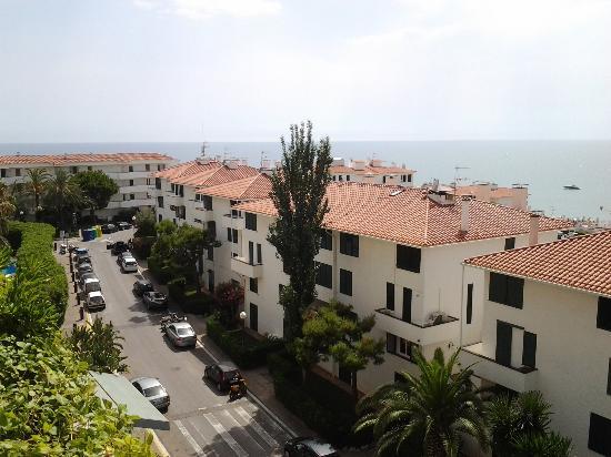 Melia Sitges: вид с балкона
