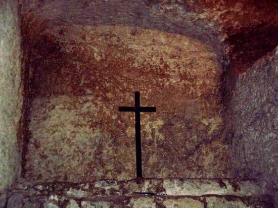 Cripta di S. Restituta: La croce