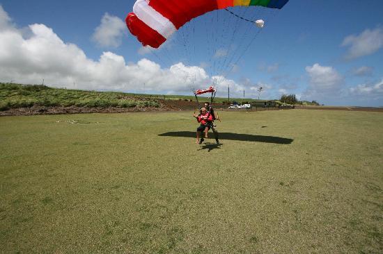 Hawaii Island Skydiving Hawi Hi