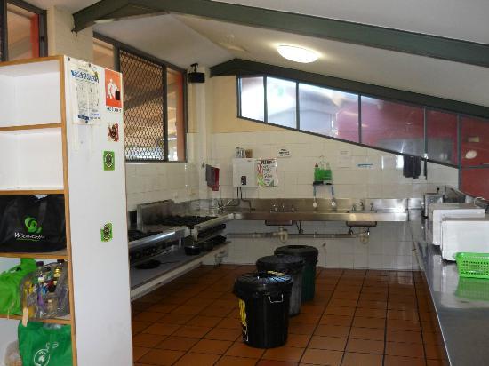 Cape Byron YHA: Cucina