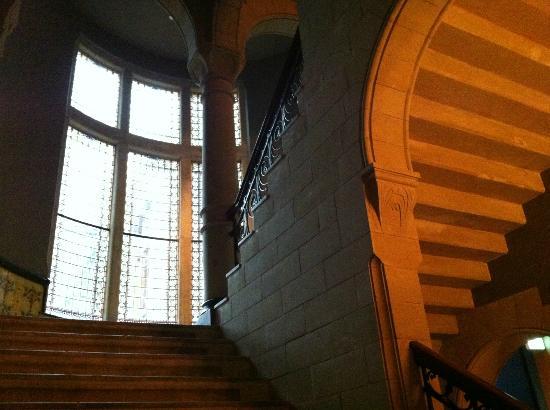 Conservatorium Hotel: detalle escaleras