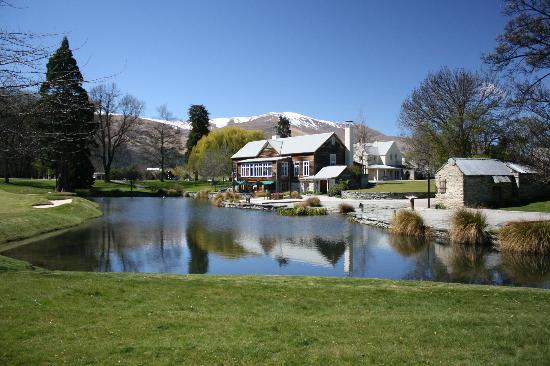 Millbrook Resort: The Millhouse is conference room upstairs and Restaurant downstairs