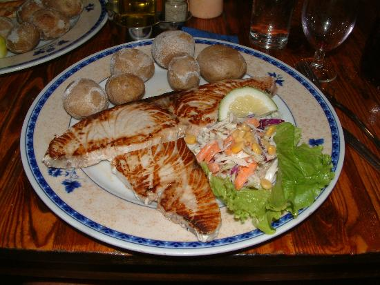 Restaurante Abisinia: Tonijn a la plancha