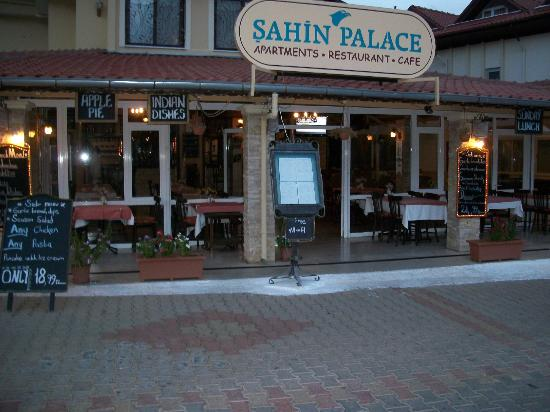 Sahin Palace Apartments: From outside apartments.