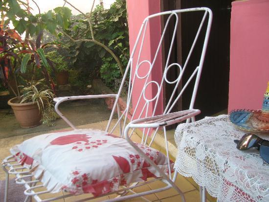 Casa Omaida Rodriguez: Garden view