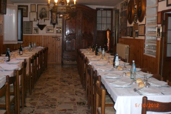 Trattoria Vernizzi: il nostro tavolo 