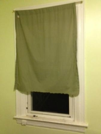 Washington International Student Center: Curtain