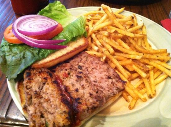 Kneadery: meatloaf sandwich