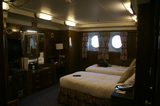The Queen Mary: The main room in the suite