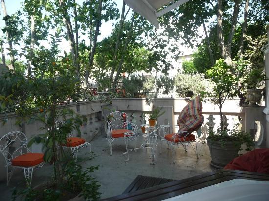 Rendez Vous Hotel Buenos Aires: terrasse de charme