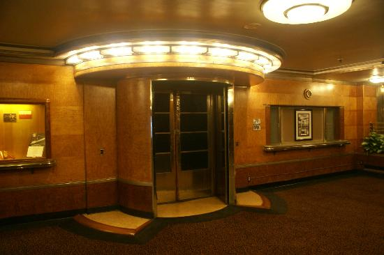 The Queen Mary: The First Class Swimming Pool Entrance