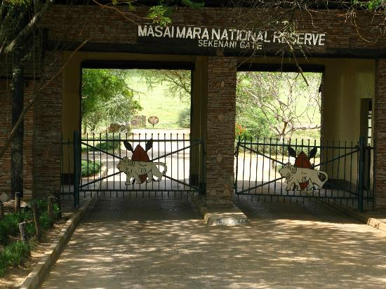 Sarova Mara Game Camp: Sekenani Gate