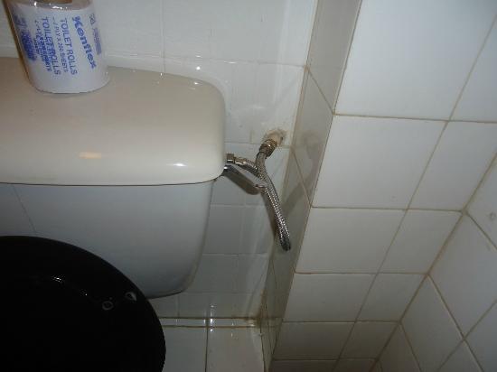 Kivi Milimani Hotel: Non flushing toilet