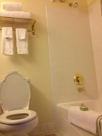 Best Western Plus Pioneer Square Hotel: super clean bathroom, nice lights