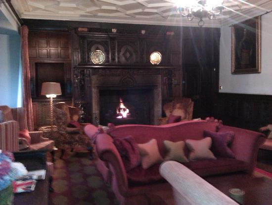 Lewtrenchard Manor: lounge