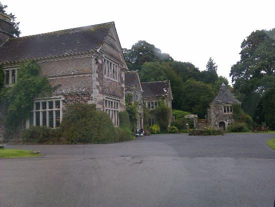 Lewtrenchard Manor: Entrance