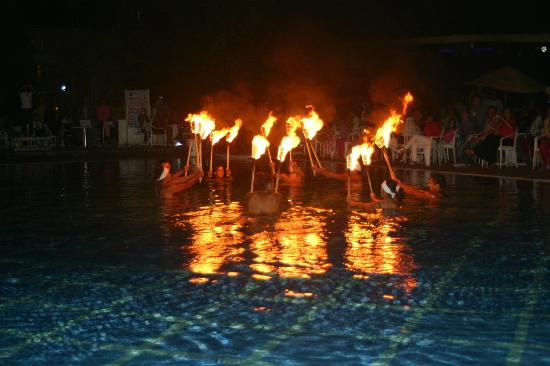 Marhaba Royal Salem: entertainment at night