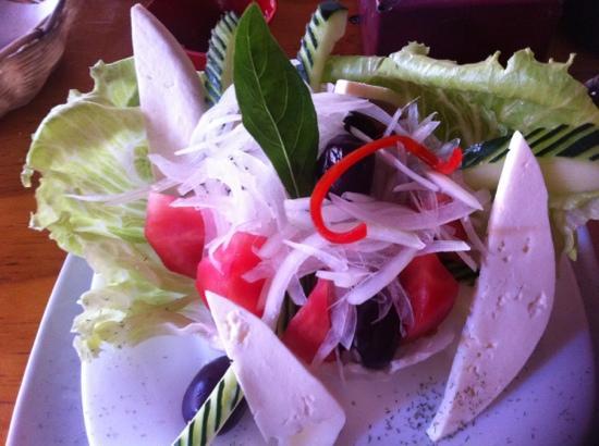 Restaurant Casa de Piedra Atacameña: Greek salad